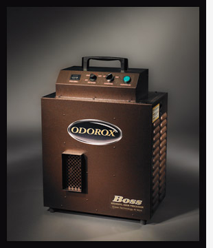 The ODOROX Boss Hydroxyl unit is the right choice for professional fire and water damage restoration contractors to deodorize and decontaminate up to 2000 sqft.
