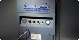 mr natural Decon Air Scrubber and hydroxyl generator for mold remediation and air cleaning