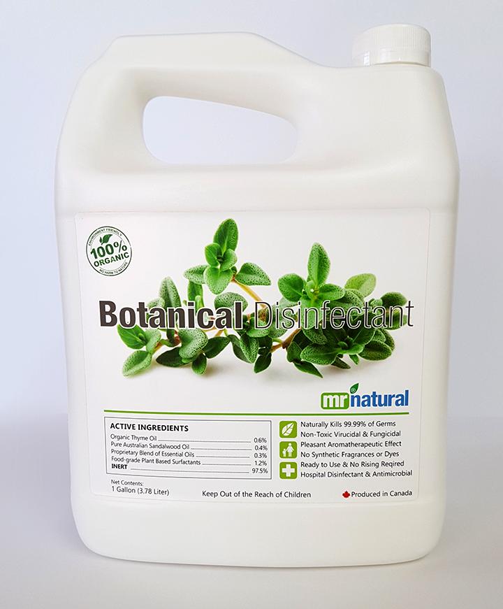 mr natural botanical disinfectant 1 gallon