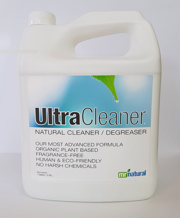 Mr Natural Ultra Cleaner Front Label