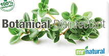 Organic Botanical Disinfectant Solution from mr natural