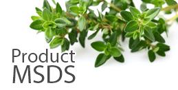 mr natural Product MSDS Sheets